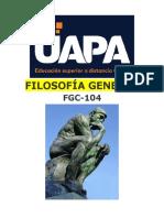 FGC-104 UNIDAD X. LA FILOSOFÍA EN LOS SIGLO XIX Y XX