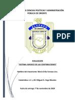 Evaluación Sistema Juridico de Contribuciones