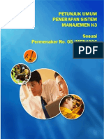 Petunjuk Umum Penerapan Smk3