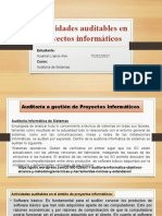 Actividades auditables - PI
