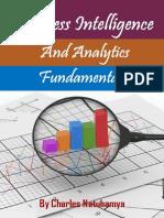 Business Intelligence and Analytics Fundamentals - Charles Natuhamya