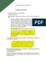 Mecanismos de Evasión (E. Fromm)