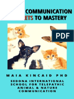 Animal Communication 5 Secrets to Mastery Mk