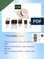 Transistor 1 - untuk pdpc 2019