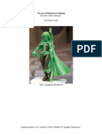 The beginners guide to sculpting miniature figures | foot | hand.