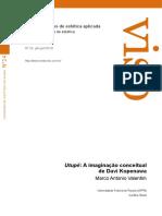 Marco Antonio Valentim - Utupe a imaginacao conceitual de Davi Kopenawa.pdf