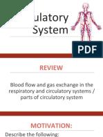 4. Circulatory System