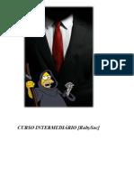 CURSO INTERMEDIÁRIO - [RubySec]