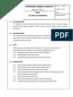 Manual Mutu Bab 3- Visi, Misi, Dan Organisasi (Sasaran Mutu)
