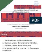 Power. Tema 04. CREACIÃ_N Y RÃ_GIMEN JURÃ_DICO DE LAS EMPRESAS. SOCIEDADES.pptx
