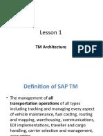 1.TM Architecture
