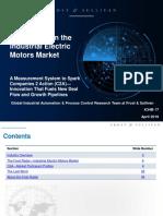 F&S Radar on Industrial Electric Motor