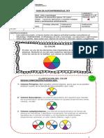 Guía de trabajo domiciliario de Artes Visuales para Séptimo Básico
