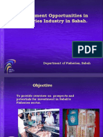 Investment Opportunities in Fisheries Industry in Sabah, Malaysia