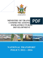 National Transport Policy