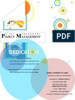 Project Management Project(Toy Manufacture)