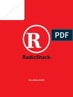 RadioShack Corporation 2012 Annual Report