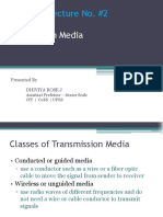 Lecture 9 Transmission Media