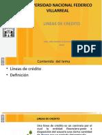 SEMANA 3 LINEAS DE CREDITO