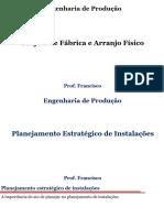 1.PFAP8_Planejamento estratégico de instalações.(apresentação)