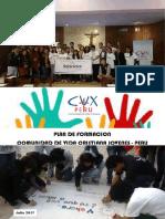 PROGRAMA DE FORMACIÓN CVX JÓVENES PERÚ