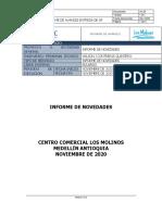 INFORME DE NOVEDADESINFORME DE AVANCES ENTREGA DE AP