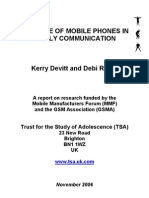 TSA_2006_Role_of_Mobile_Phones_In_Family_Communicat_Final_Report