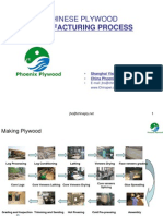 Manufacturing Process of Chinese Plywood