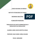 Presupuesto de gastos admin y de producción.pdf