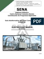 Electricidad Basica Guía Autoformativa 1