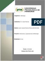 Instituciones y organizaciones de Metrologia 200910810048.pdf