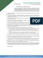 CIRCULAR A PADRES DE FAMILIA, MATRÍCULAS 2021