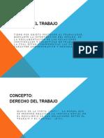 Derecho 2 - Derecho Del Trabajo (1)