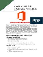 Activar Office 2019 Full Español Dale Webo