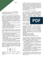 FISIOLOGIA (DIGESTÓRIO, RESPIRATÓRIO, CIRCULATÓRIO, IMUNOLÓGICO)
