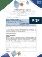 Guia de actividades y Rúbrica de evaluación - Postarea - Etapa 5 - Implementación TIC (1)