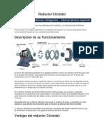 Reductor Cicloidal-Informe Tecnico