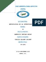 TAREA 1 DE METODOLOGIA II