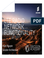LTE Functionality Introduction
