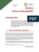 TEXTO 2 ética y evaluación