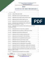EETT Obras Preliminares y Provisionales