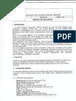 manual e procedimentos