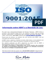 NBR ISO 9001 2015