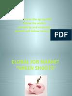 GLOBAL JOB MARKET