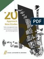 (Bb) 20 Approach Note Etudes.pdf