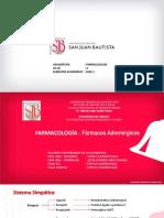 Farmacologia CLASE 9