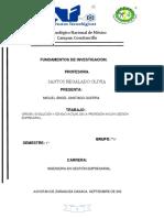 Investigación gestión empresarial