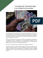 Análisis de laeconomia en venezuela