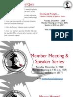 WCAS Member Mtg and Speaker Program Slides December 2020