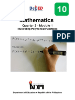 Grade10_Module on Illustrating Polynomial Functions